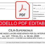CILA Superbonus 110% - Modelli pdf completamente editabili